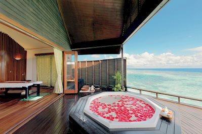 Foto Lily Beach Resort en Spa ***** Zuid-Male Atol