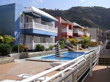 Foto Los Roque y Monica ** Puerto Naos