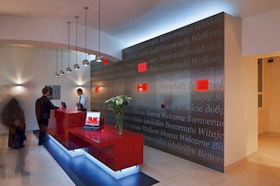 Foto Red en Blue Design **** Praag