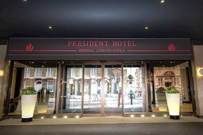 Foto President *** Londen