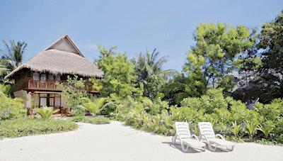 Foto Olhuveli Beach en Spa Resort **** Zuid-Male Atol