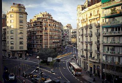 Foto Via Augusta ** Barcelona