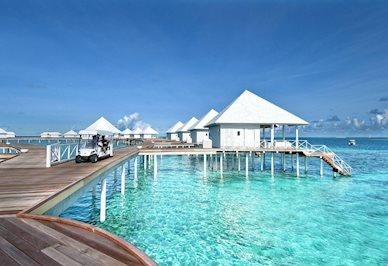 Diamonds Thudufushi Beach en Water Villas