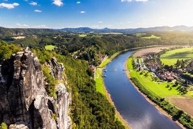 Foto Panorama Lilienstein *** Konigstein