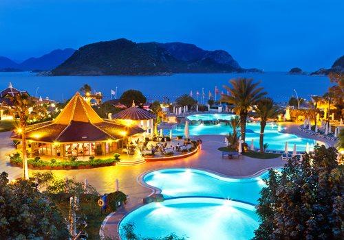 8 daagse vliegvakantie naar Marti Resort De Luxe in icmeler, turkije