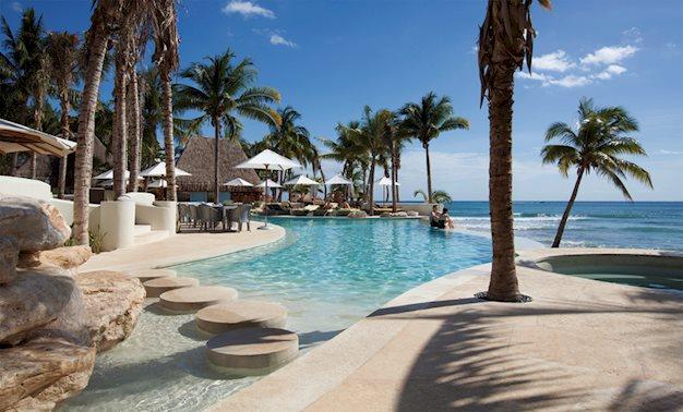 Goedkope zonvakantie Yucatan 🏝️Mahekal Beach Resort