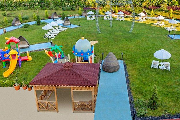 8 daagse vliegvakantie naar Glamour Resort en Spa in side, turkije
