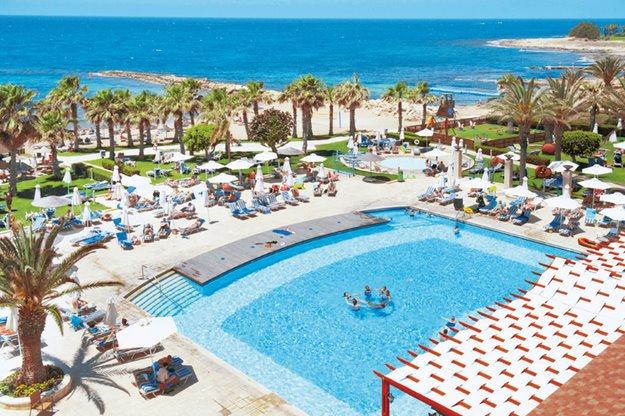Goedkoop op zonvakantie Paphos 🏝️Louis Ledra Beach