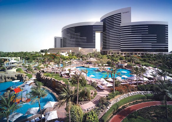Korting vakantie Dubai 🏝️Grand Hyatt Dubai