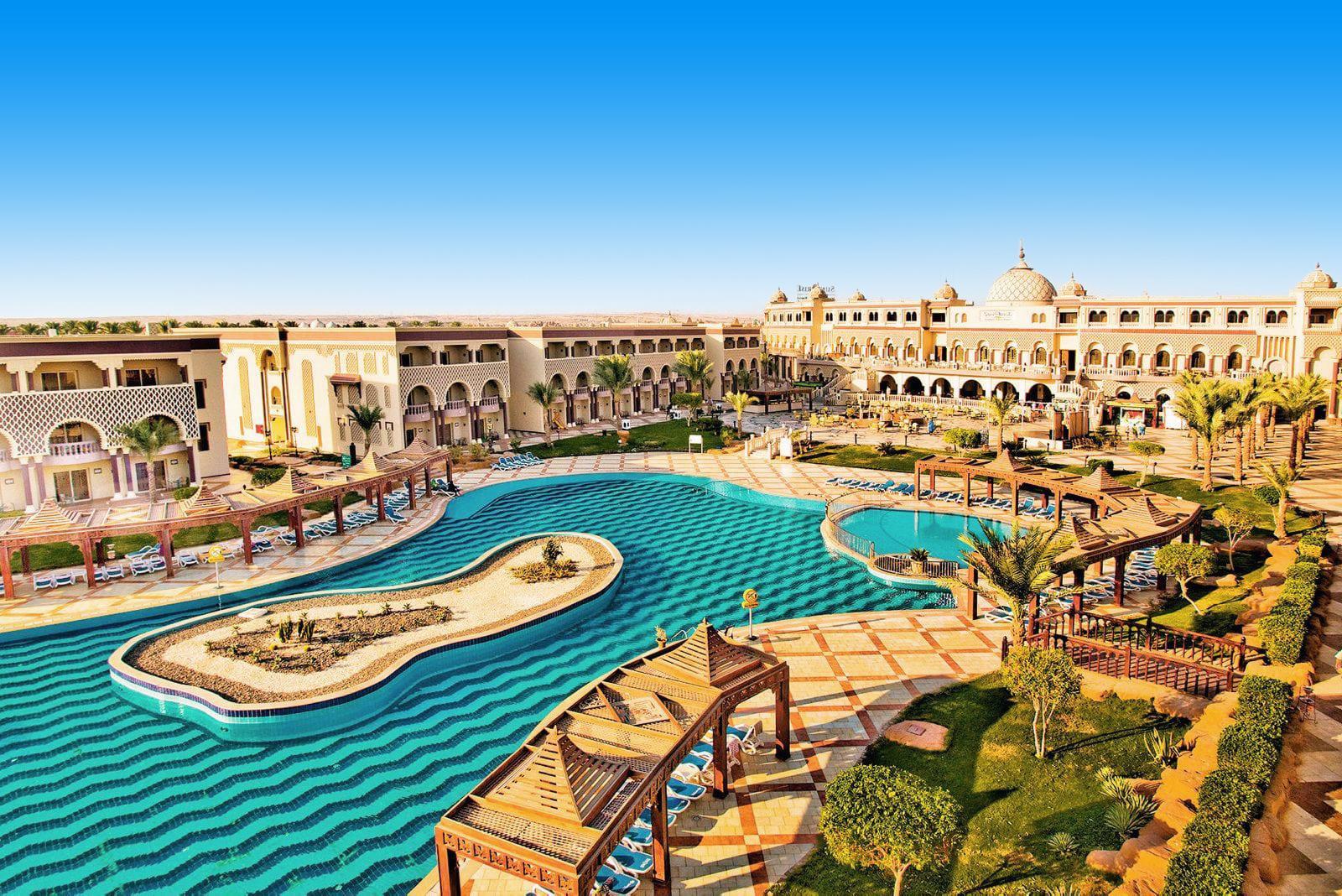 8 daagse vliegvakantie naar SENTIDO Mamlouk Palace Resort in hurghada, egypte