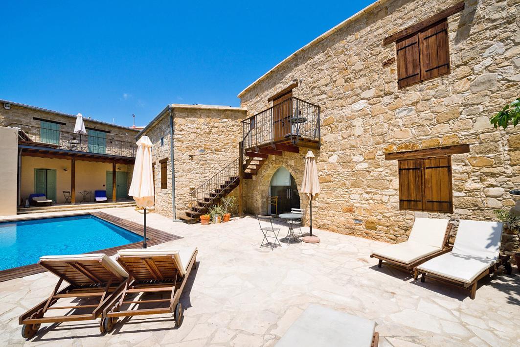 Top vakantie Larnaca 🏝️Filokypros Evkarpos Character Houses