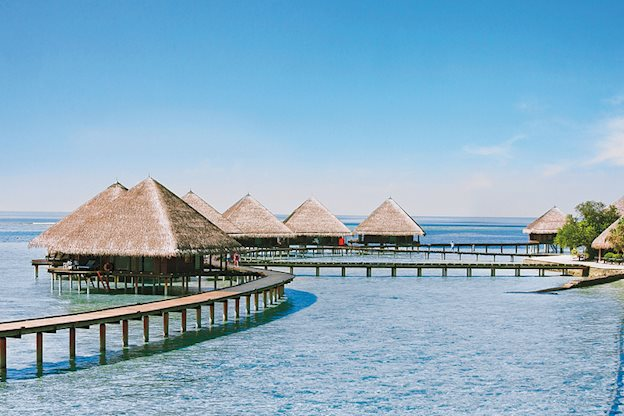 8 daagse vliegvakantie naar Adaaran Club Rannalhi in zuid-male atol, malediven
