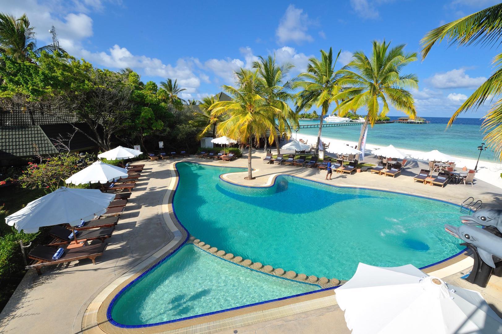 Geweldige zonvakantie Noord Male Atol 🏝️Paradise Island Resort