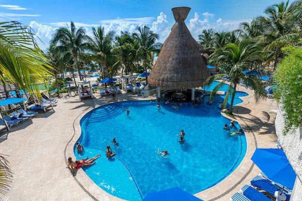 8 daagse vliegvakantie naar The Reef Playacar Resort and Spa in playa del carmen, mexico