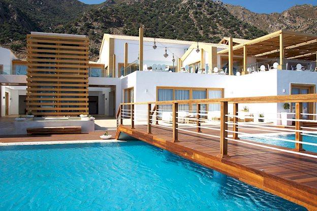 mitsis blue domes exclusive resort en spa