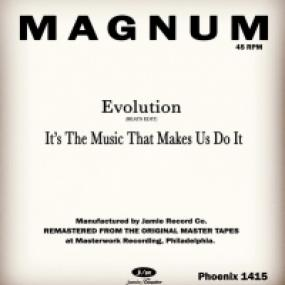 EVOLUTION (BEATS EDIT) / IT'S THE MUSIC THAT MAKES US DO IT