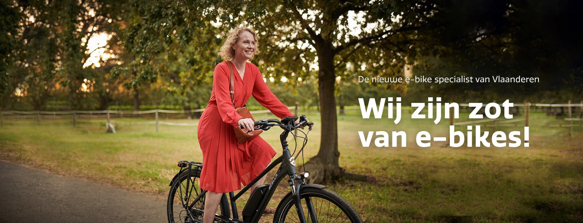 De nieuwe e-bike specialist van Vlaanderen
