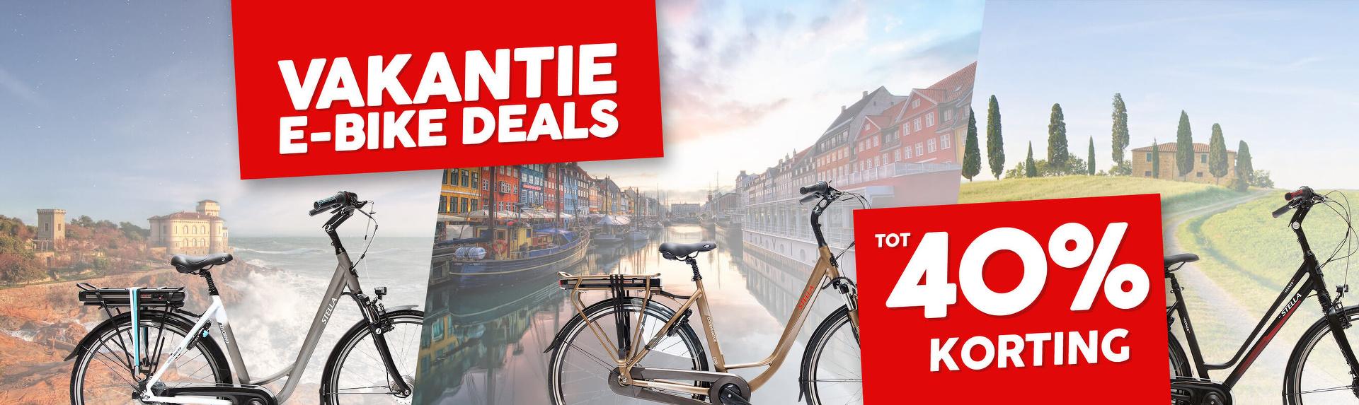 Vakantie E-bike Deals