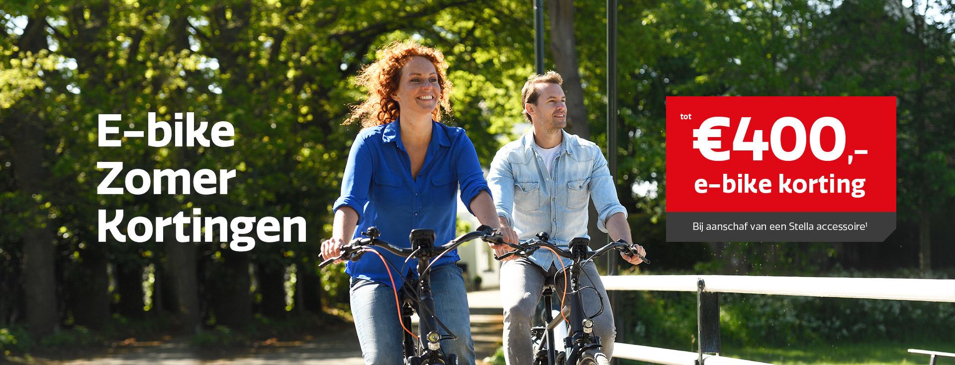 E-bike Zomer Kortingen