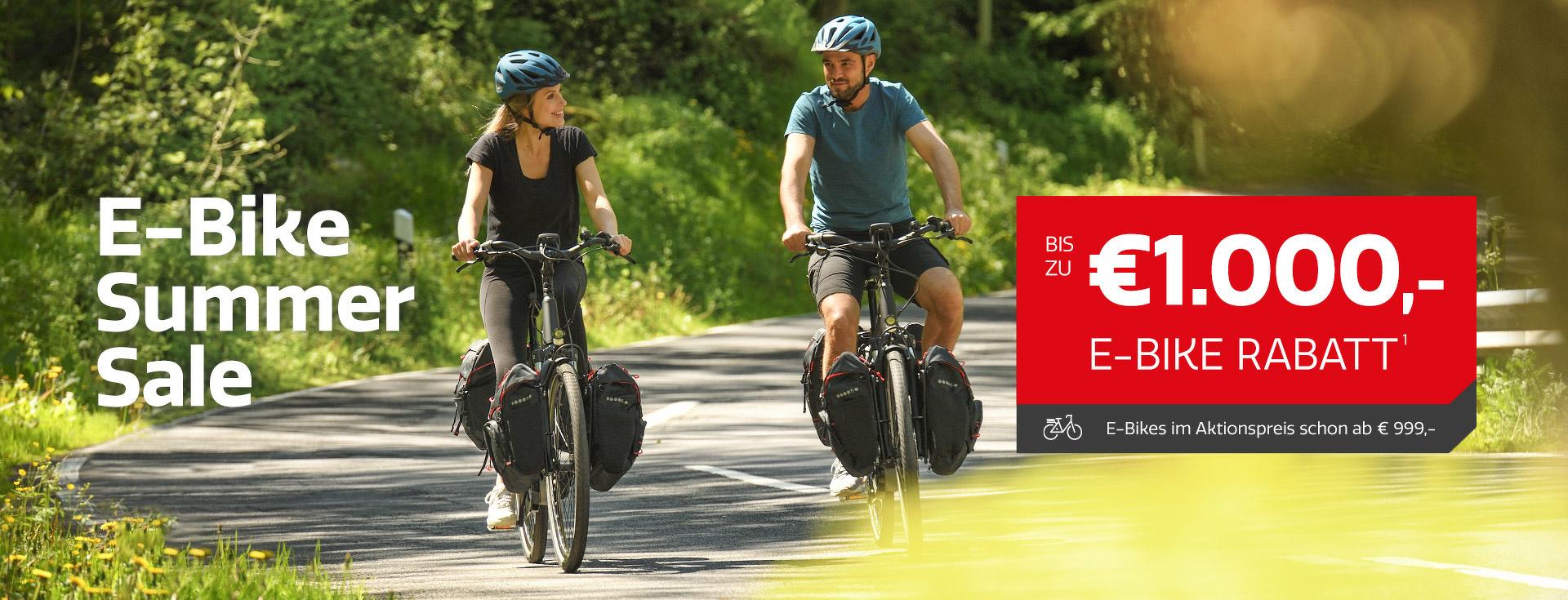 E-Bike Summer Sale