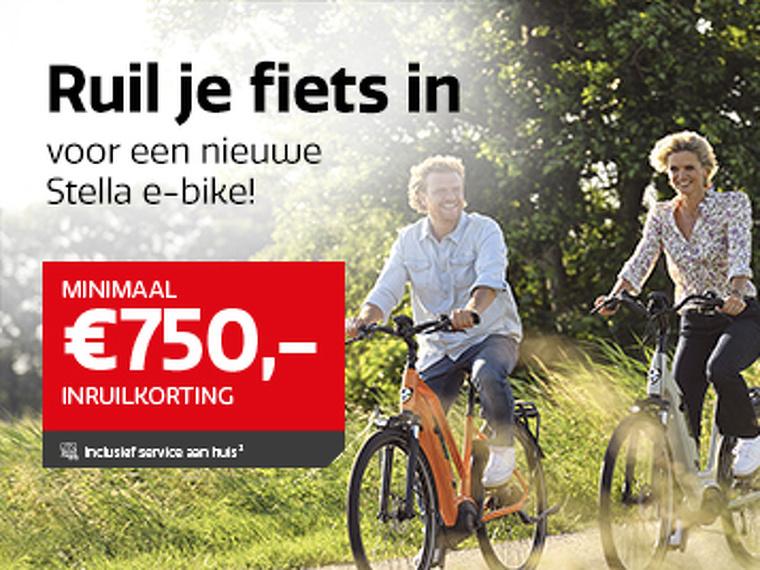 Ruil je fiets in voor een nieuwe Stella e-bike!