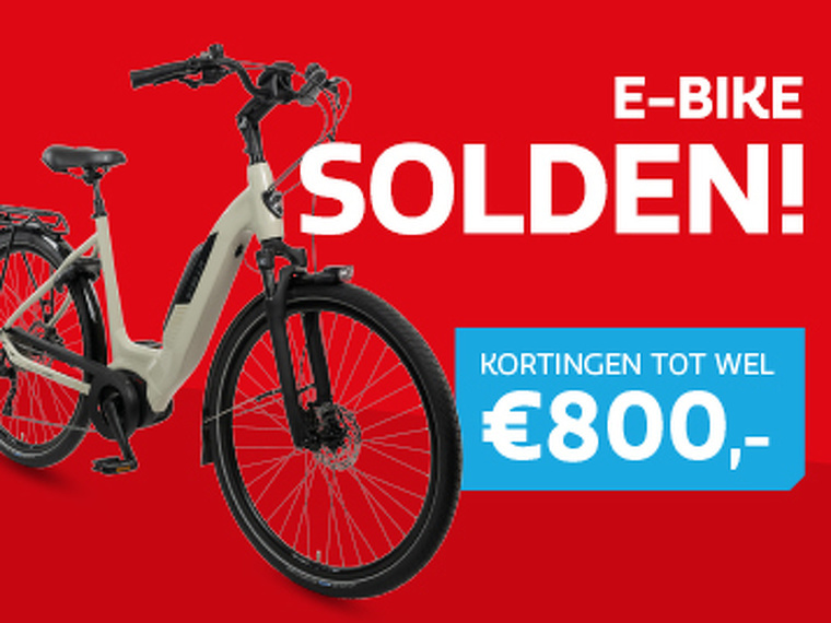 E-bike Solden bij Stella!