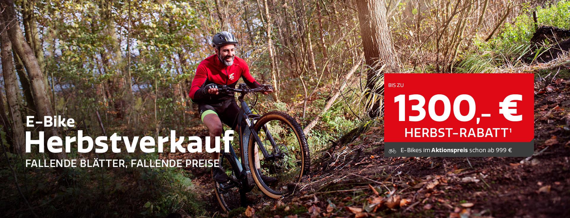 E-Bike Herbstverkauf