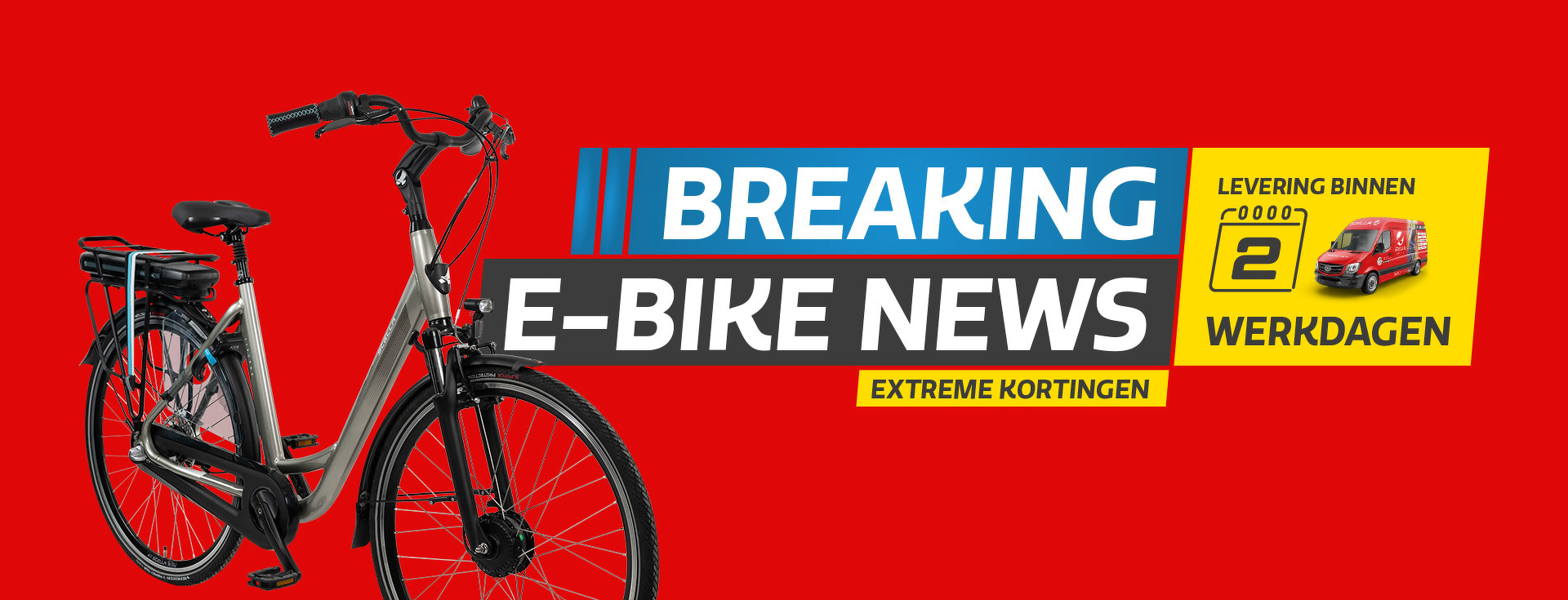 Breaking E-bike News