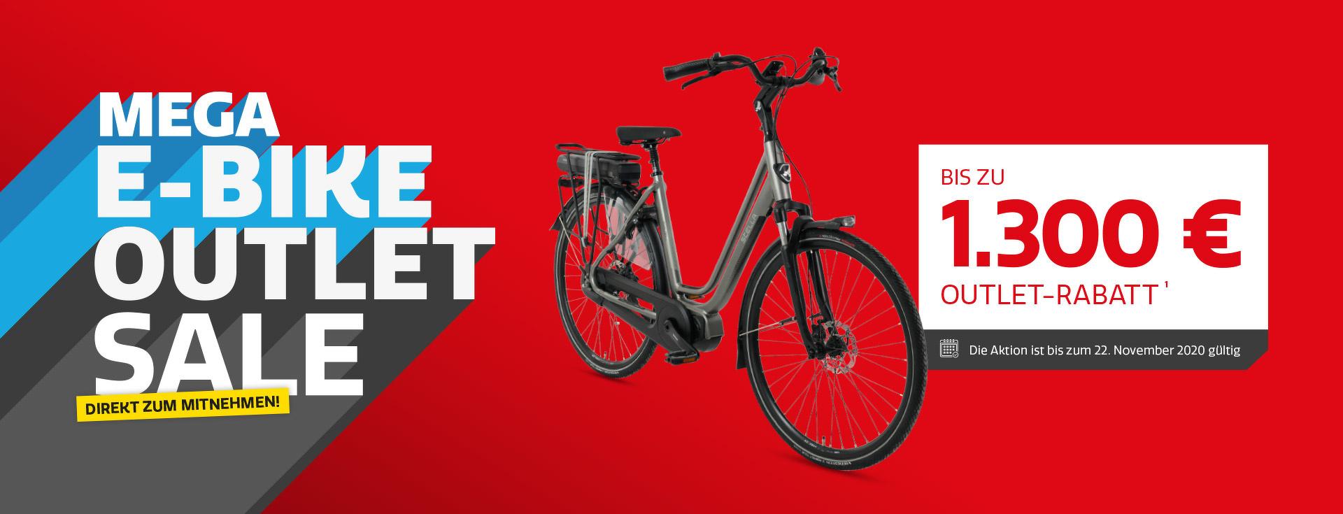 Mega E-Bike Outlet Sale