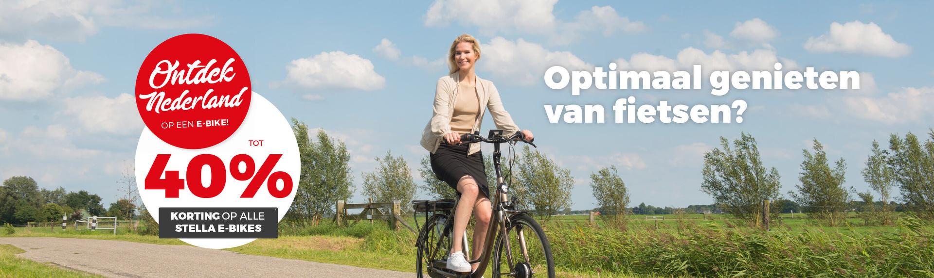 Ontdek Nederland op een e-bike