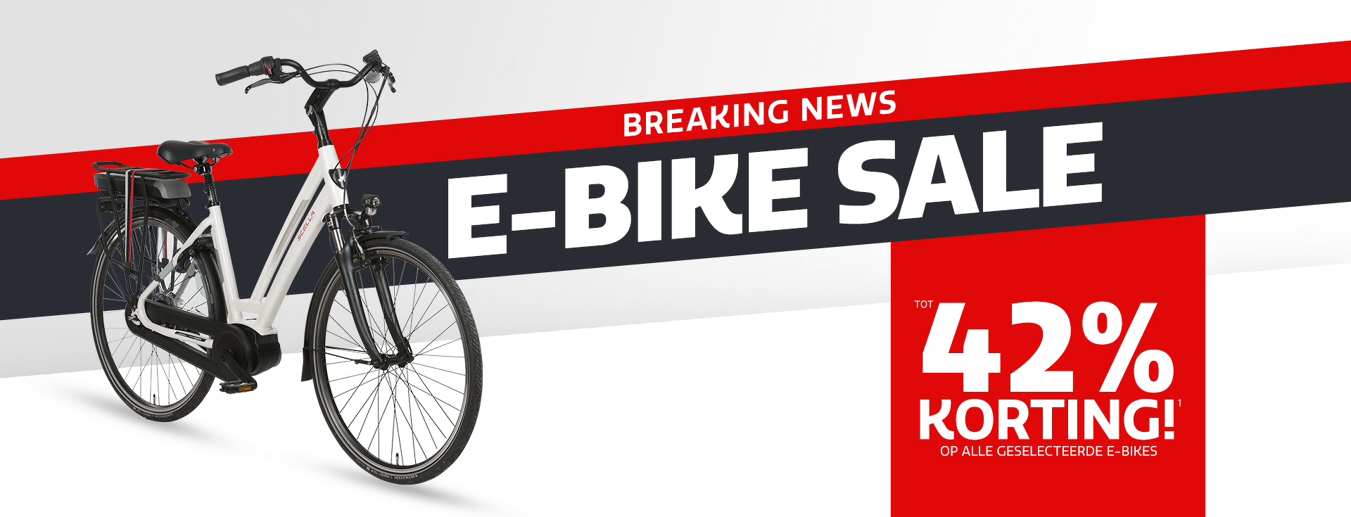 E-bike Sale - Tot 42% E-bike Korting