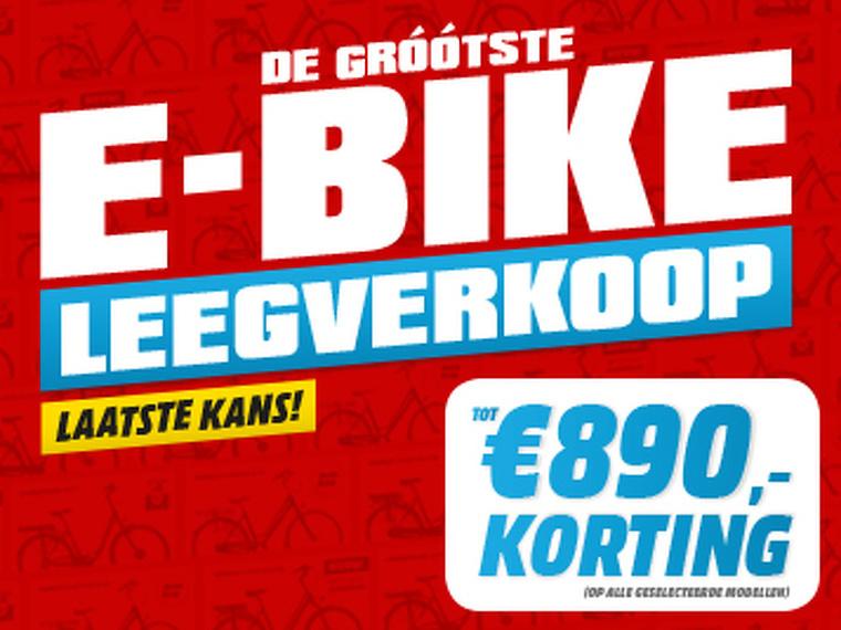 De Grootste E-bike Leegverkoop van Nederland