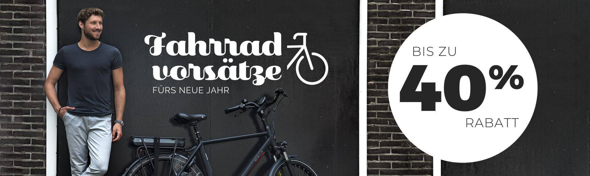 Fahrradvorsätze fürs neue Jahr