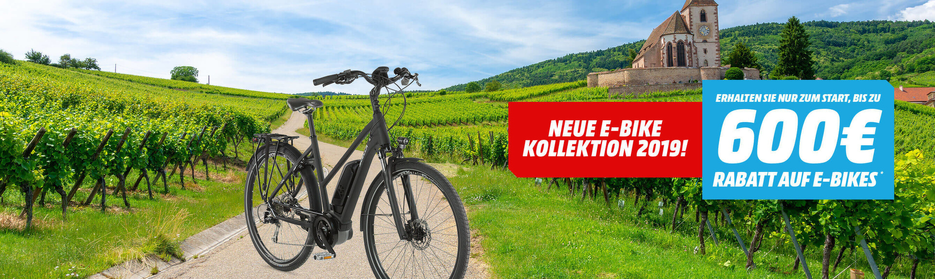 Neue E-Bike Kollektion 2019!