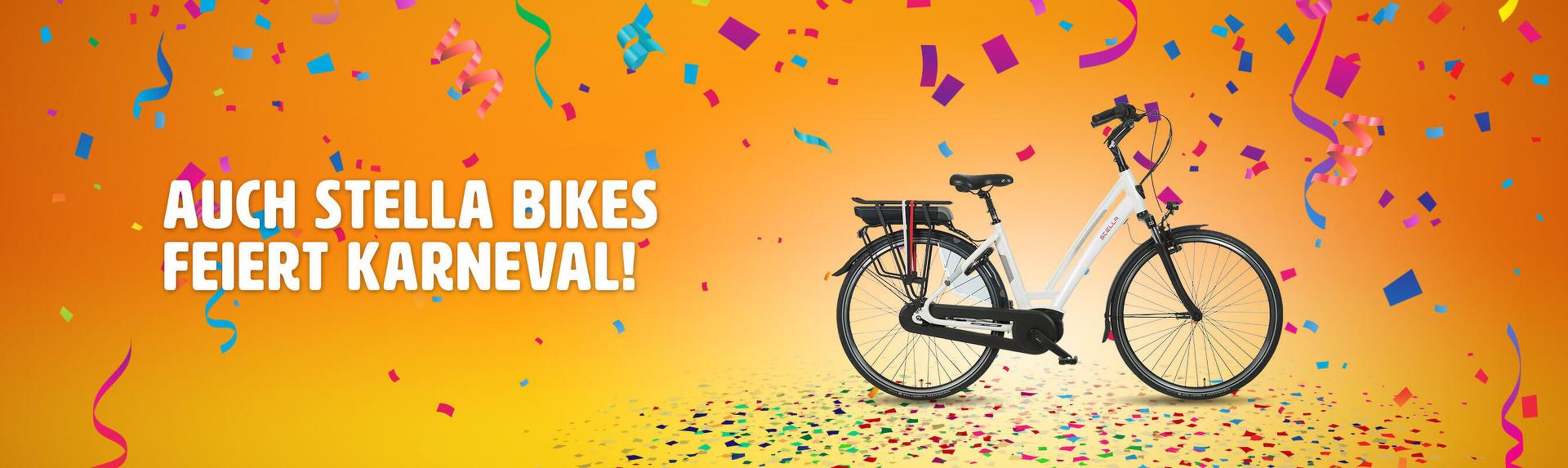 Auch Stella Bikes feiert Karneval!