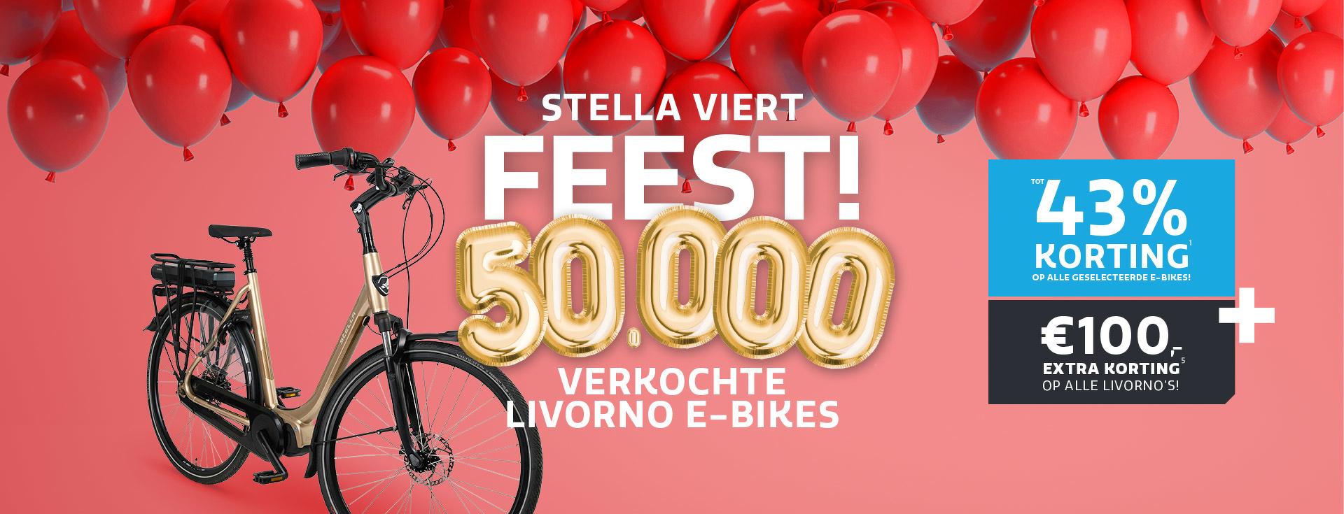 Al meer dan 50.000 Livorno's verkocht!