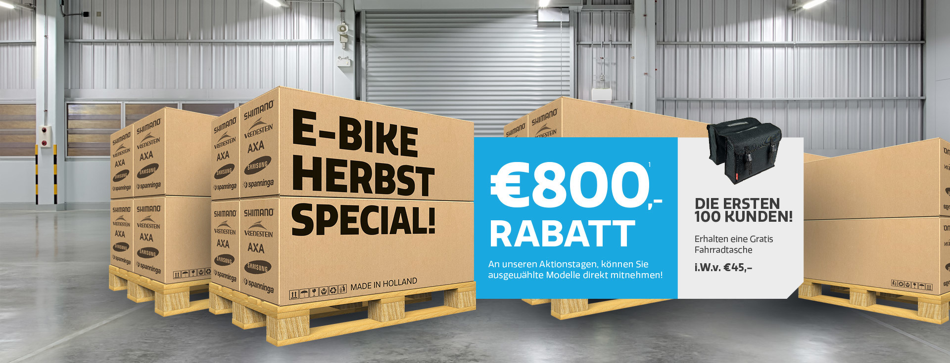 E-bike Herbst Special