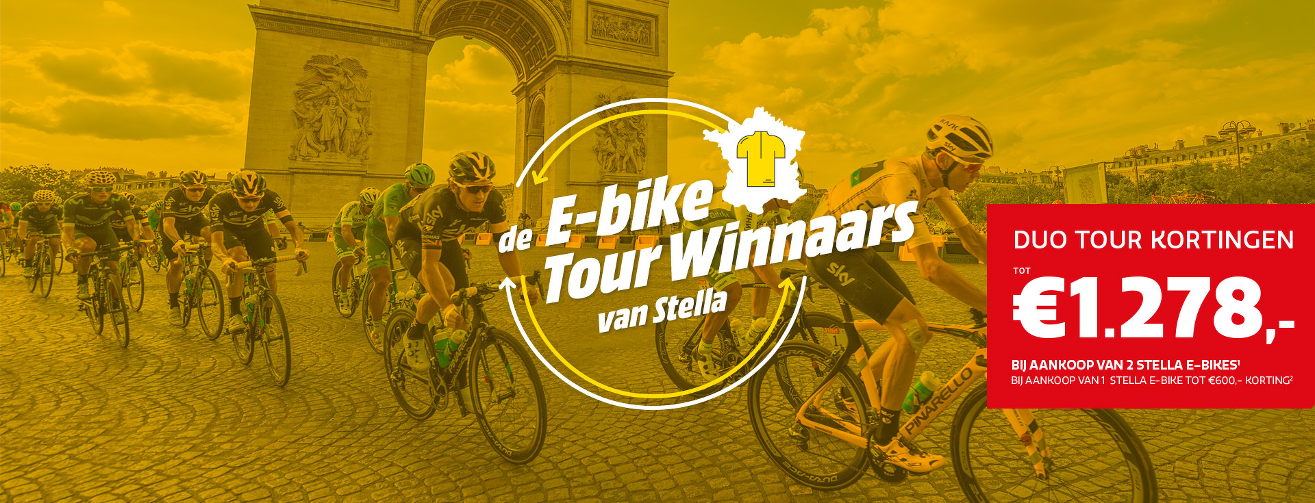 E-bike Tour Winnaars