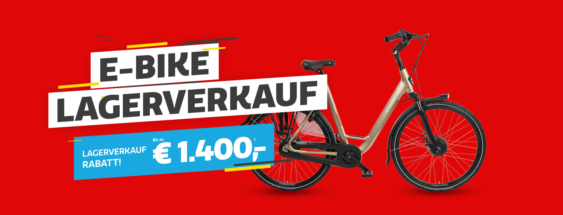 E-Bike Lagerverkauf