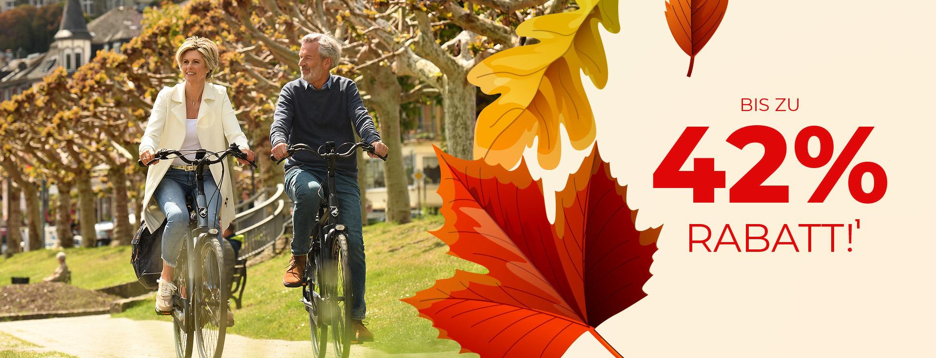 E-Bike Herbst Vorteile