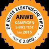 ANWB Fietstest – Stella Vicenza Superior Nero verkozen tot Beste E-bike
