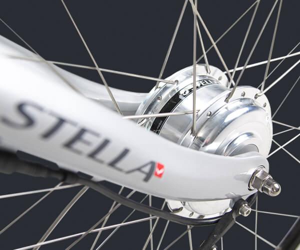Elektrisches Fahrrad mit Vorderradmotor