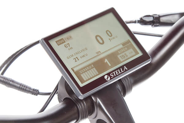 Stella Mobi drive display