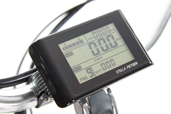 Stella LCD display