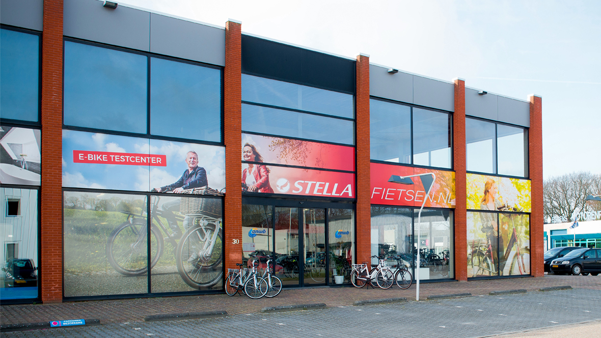stella e bike testcenter in assen kommen sie vorbei. Black Bedroom Furniture Sets. Home Design Ideas