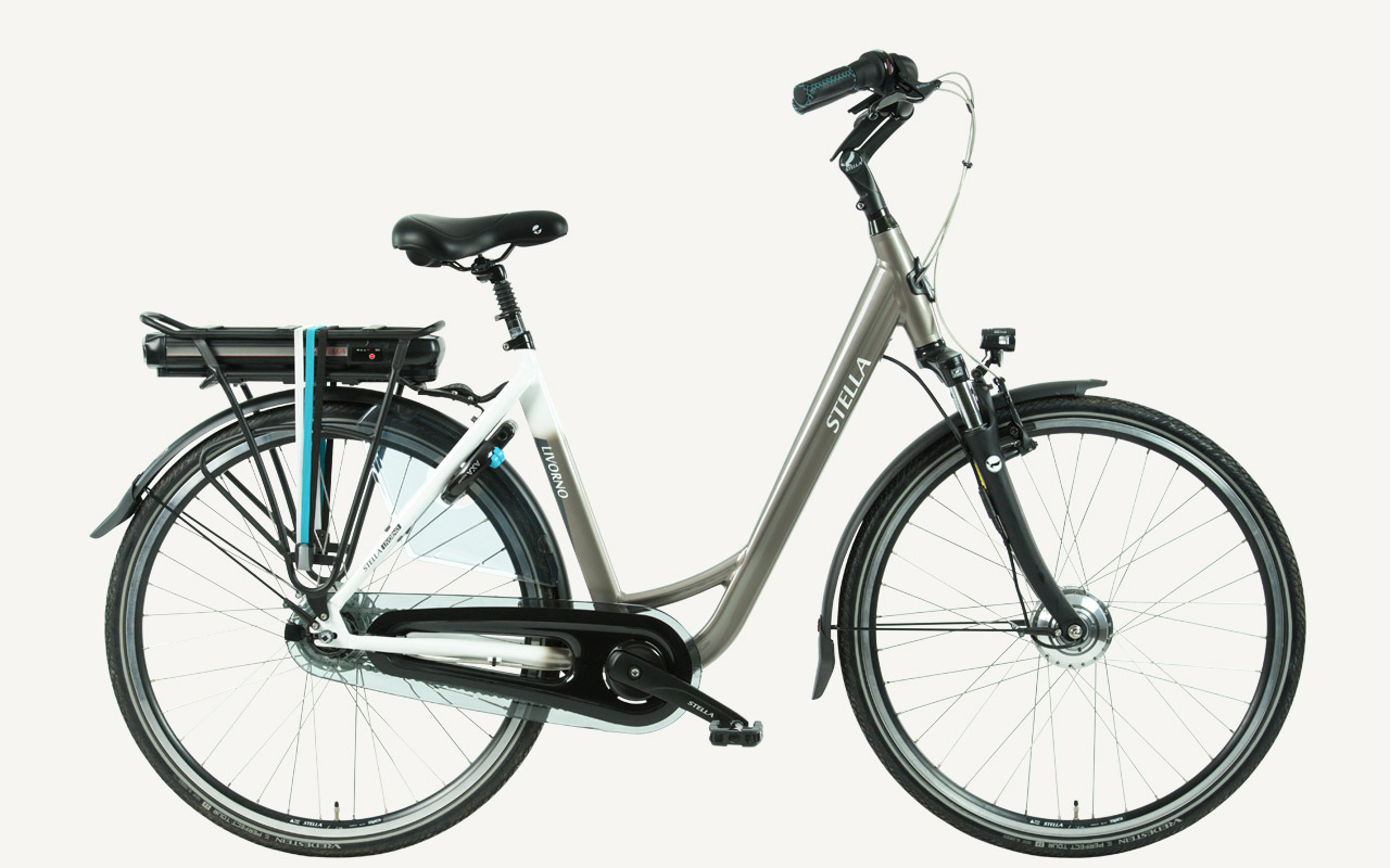stella livorno grey sportieve elektrische fiets van stella