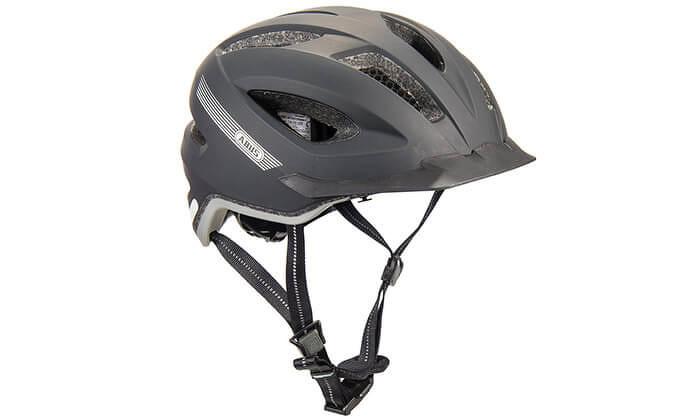 ABUS fietshelm zwart