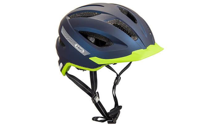 ABUS fietshelm blauw