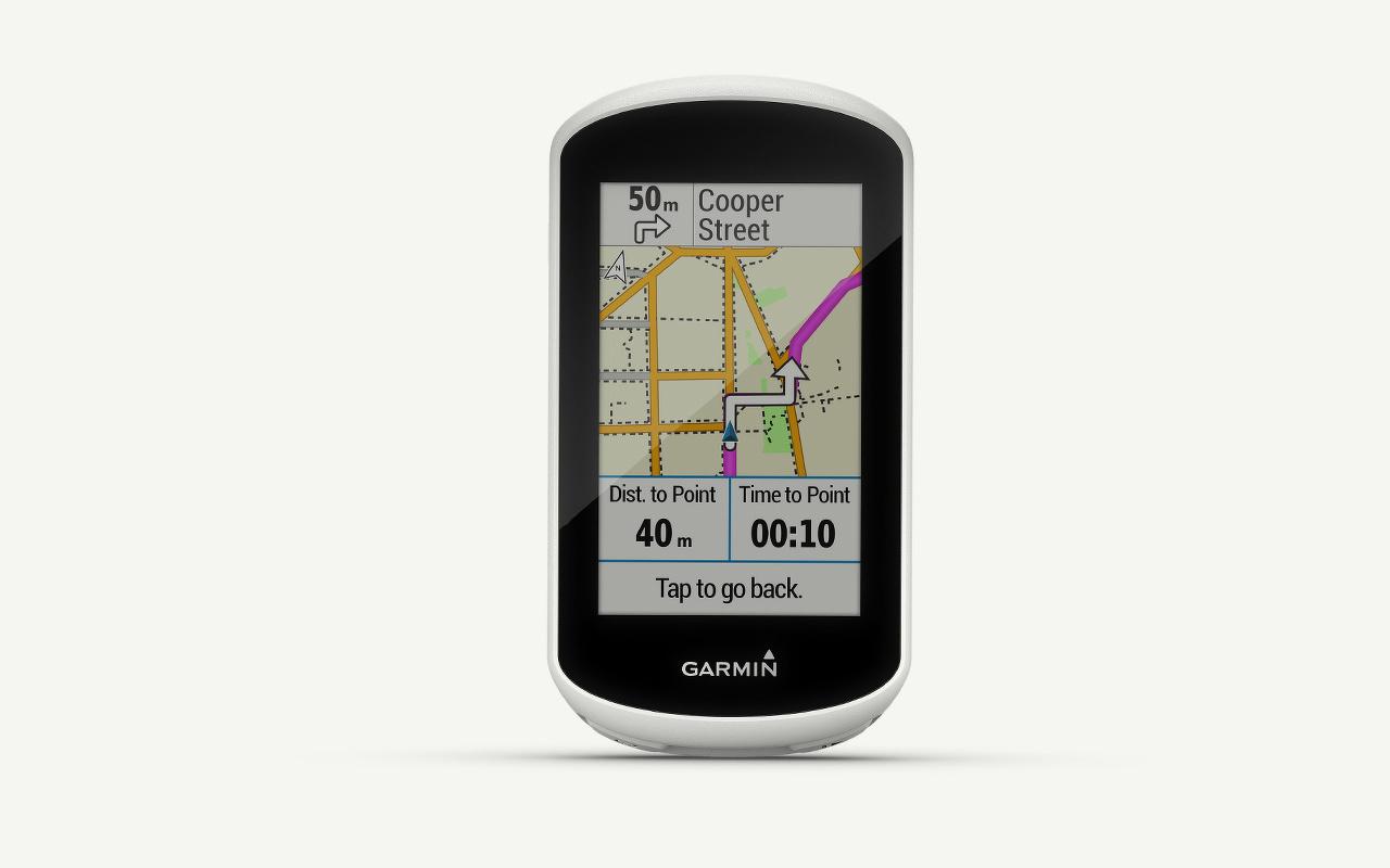 Fietsnavigatie Garmin Edge Explorer