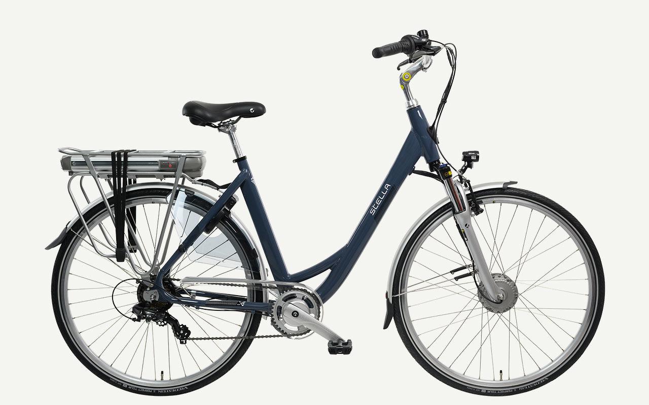 stella allegra fdst das preiswerte elektrische city bike stella bikes. Black Bedroom Furniture Sets. Home Design Ideas